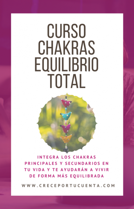 curso online chakras equilibrio total