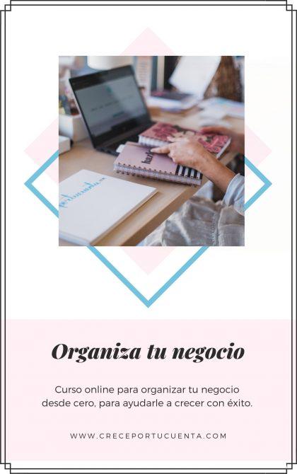 organiza tu negocio
